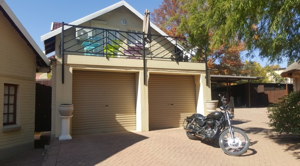 Autumn in Clarens and motorbikers are welcome at Mt Rouge guesthouse
